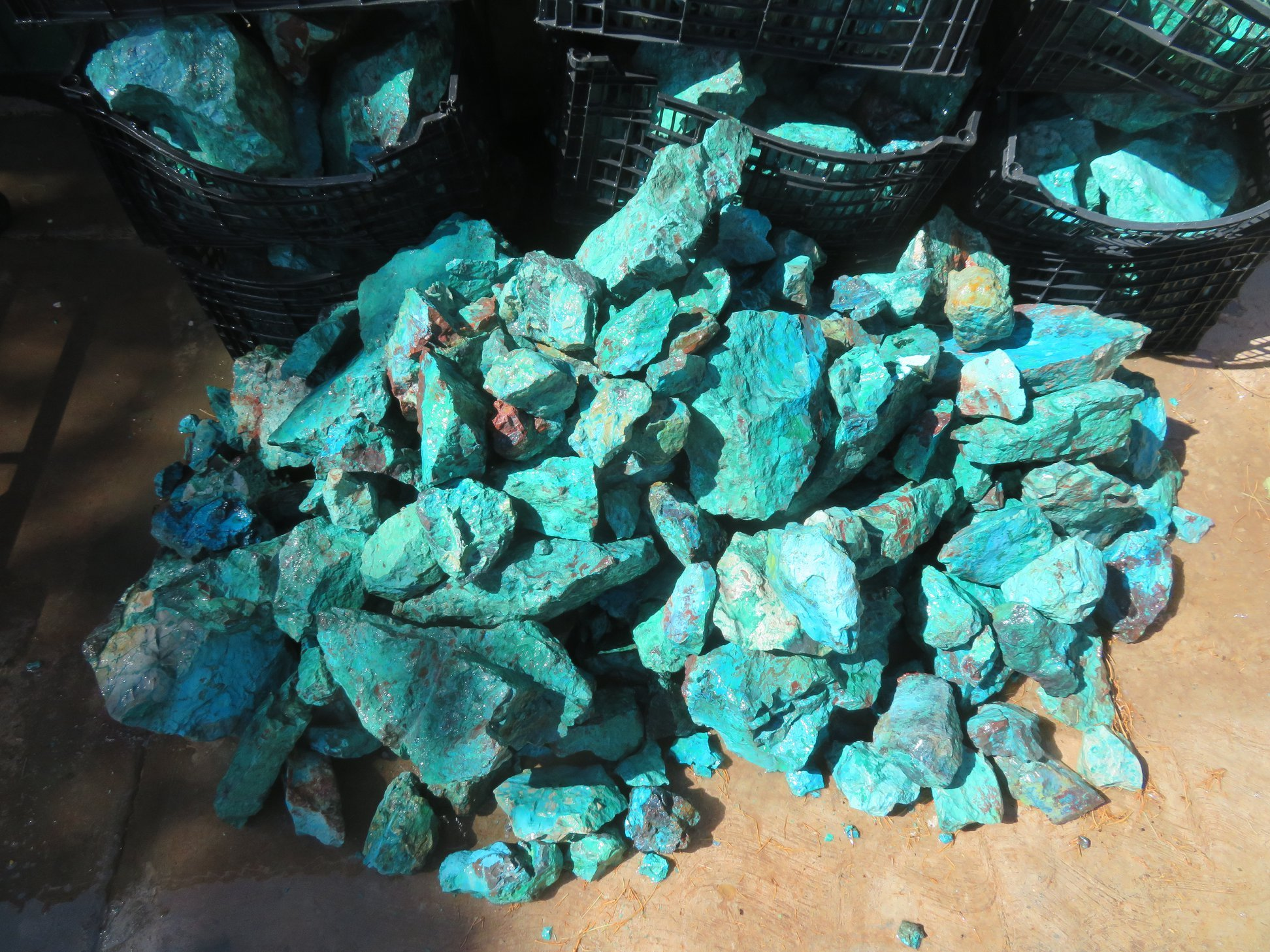 High Grade Chrysocolla Rough